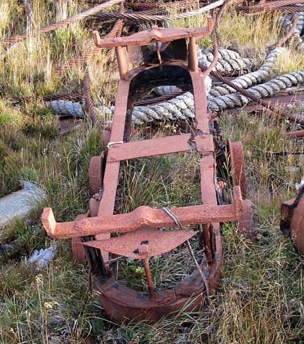 Waggon Remains