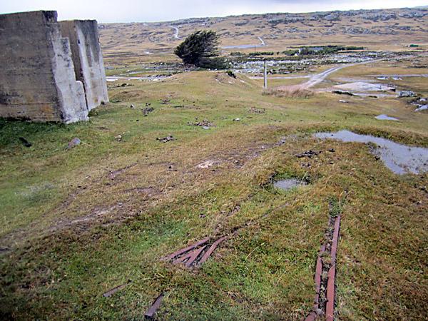 Track remnants