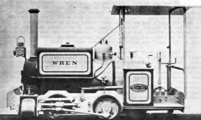 """KS """"Wren"""" class engine"""