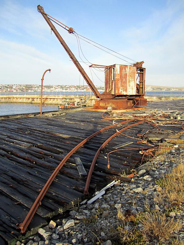 Track and Crane
